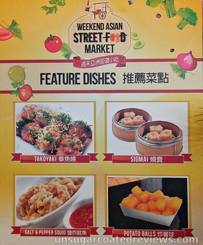 Weekend Asian Street Food Market at Lucky Chinatown Mall in Binondo, Manila