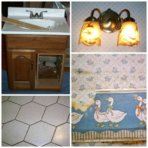 Half-Bath Renovation: the ugly duckling before | Tried & Twisted