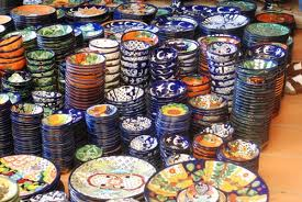 Talavera castillo for Fabricantes de ceramica en mexico