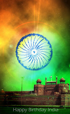 August 15th Happy Birthday India