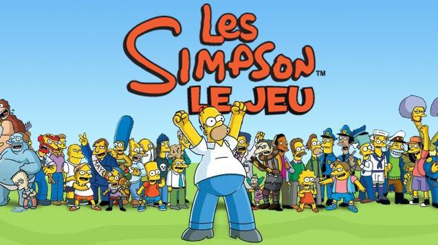 Vos jeux finis en 2014 - Page 11 Les+Simpsons+Le+Jeu+-+Title