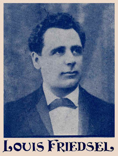 Louis Friedsel, Louis Friedsell, Yiddish theater music composer