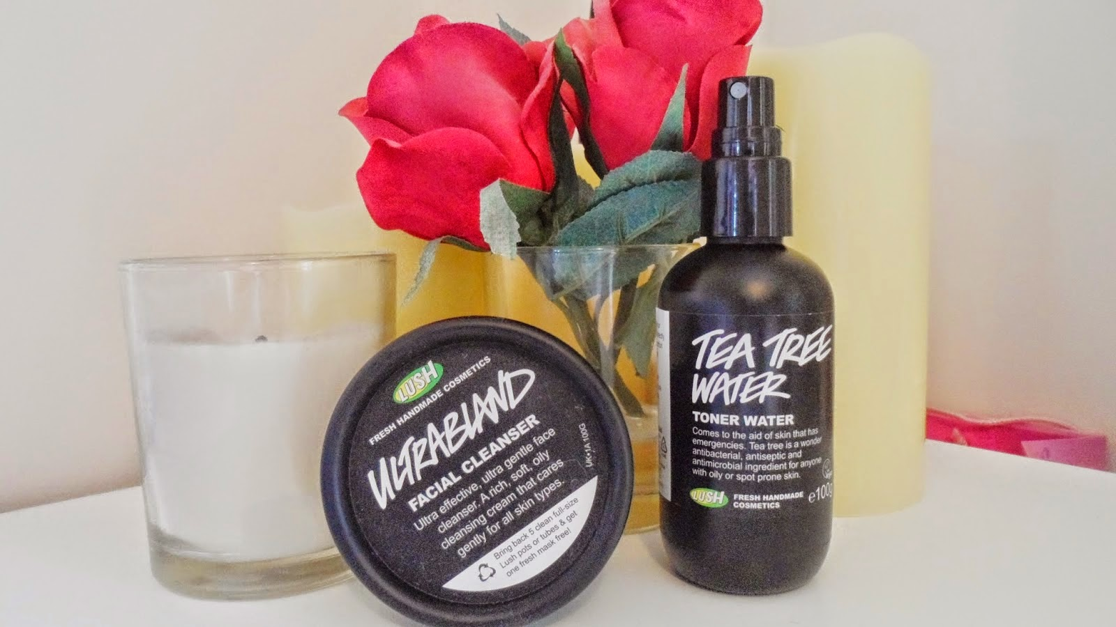 lush skincare ultrabland tea tree water review acne