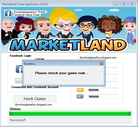 Marketland Hack, Cheat Game Application [2013] : Download Hack Cheat