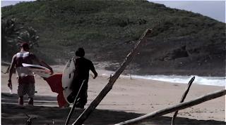 Patrick Gadauskas, Dylan Graves, Hector Santa Maria, Josie Graves, et Gaby Escudero  surf trip caraibes