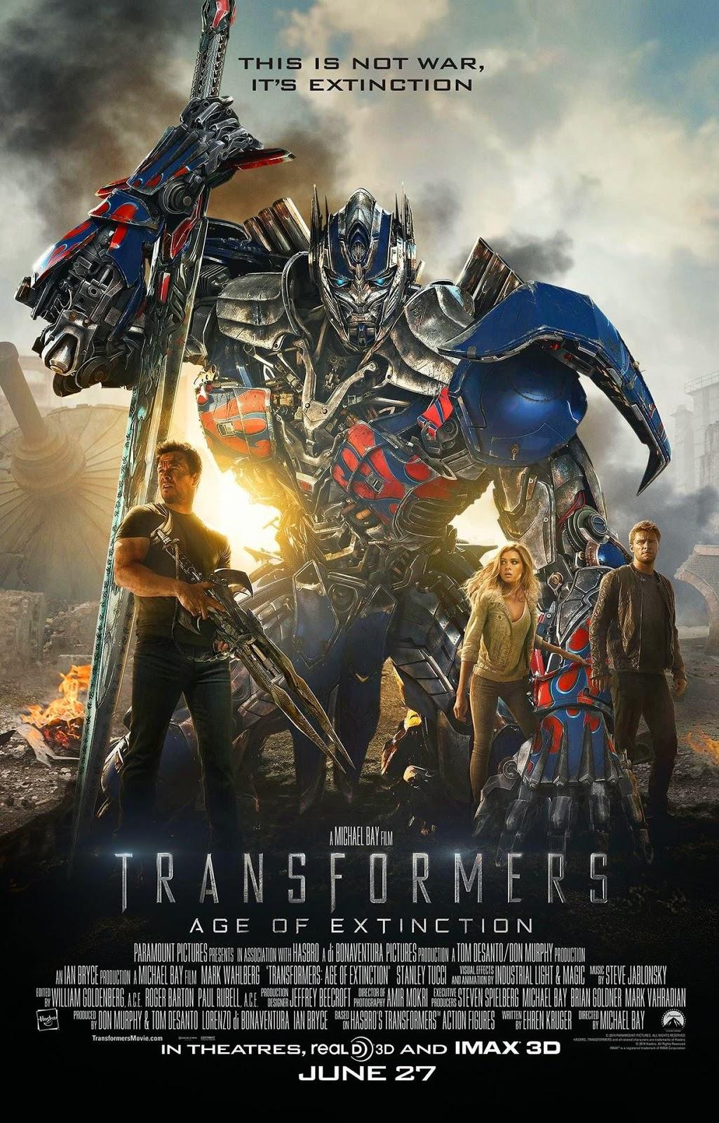 Transformers : La era de la extinción (2014) Online