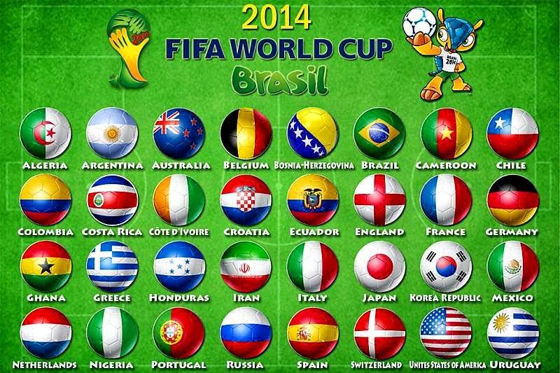 Hadiah Lumayan Pusingan Akhir Piala Dunia 2014