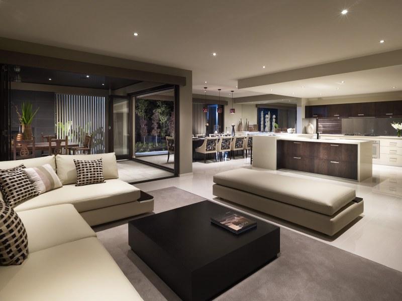 Casas minimalistas y modernas livings comedores modernos for Decoracion de living moderno