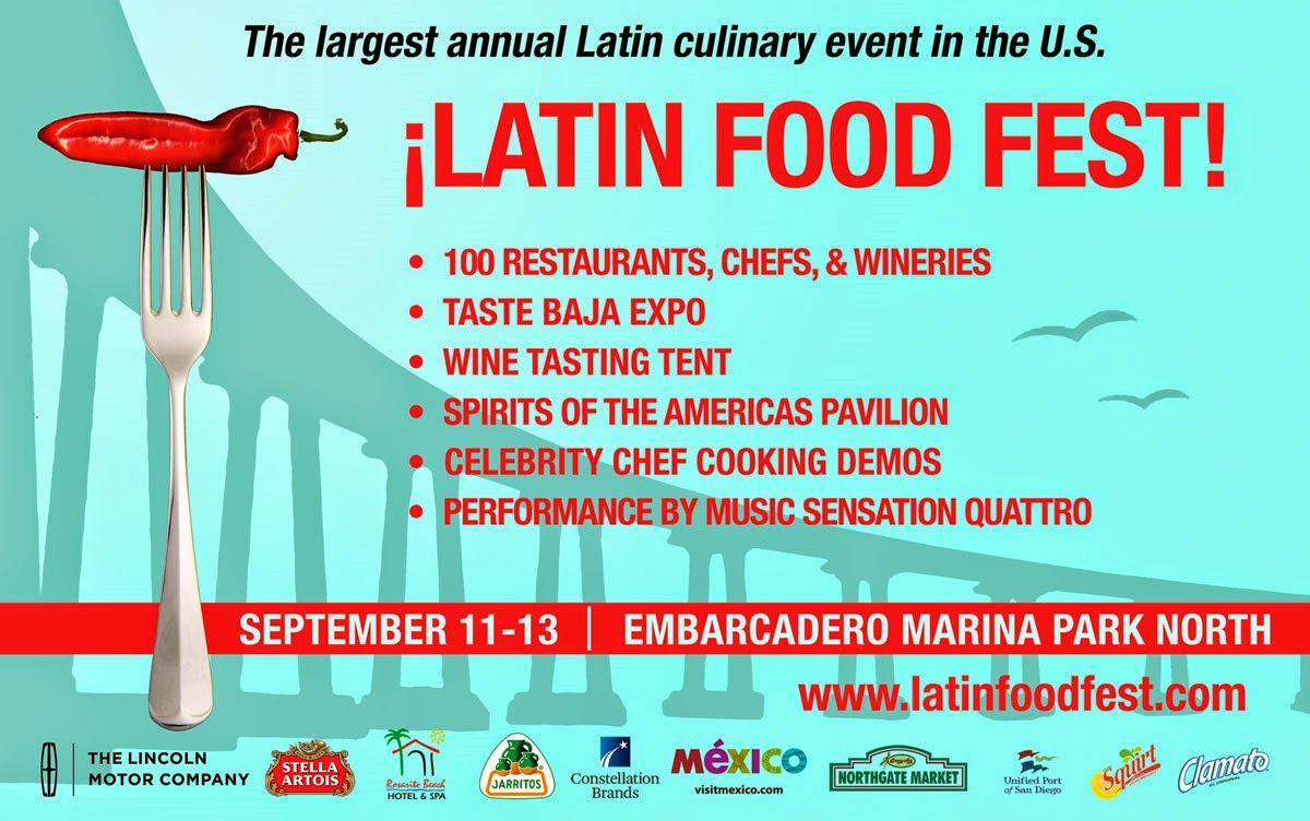 Win 2 Tickets to the ¡LATIN FOOD FEST! Grand Tasting Village