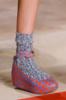 Ниски обувки на платформа Marc Jacobs