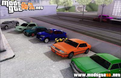 SA - Mod Estacionamento Para 256 Carros