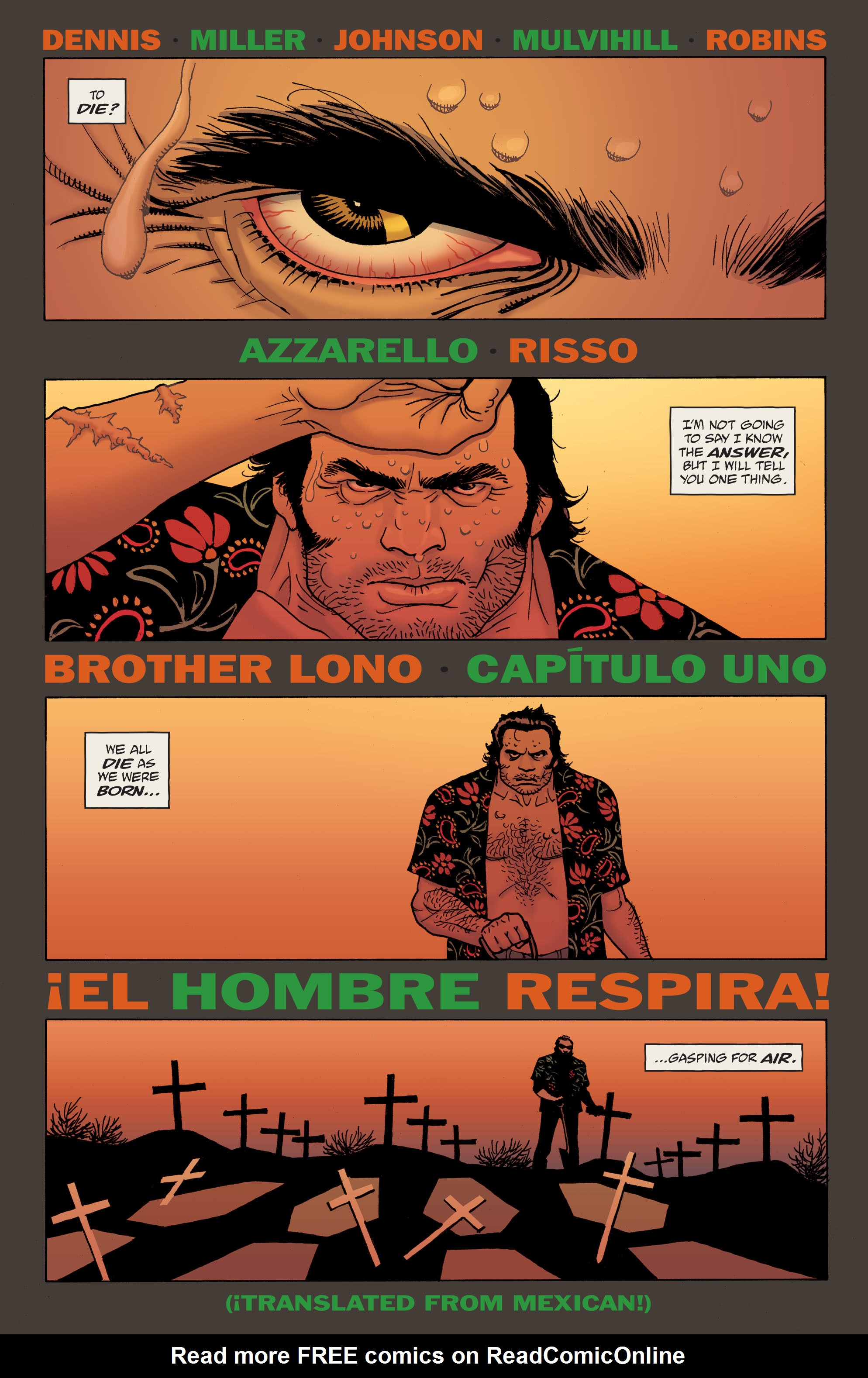 100 Bullets: Brother Lono Full Page 9