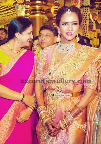 Lakshmi Prasanna at Manoj Wedding