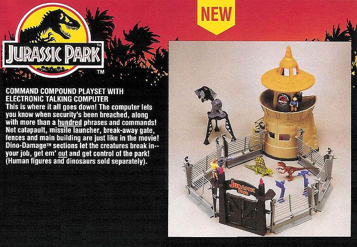 Elicottero Jurassic Park : Paleo nerd sfogliando il catalogo kenner di jurassic park