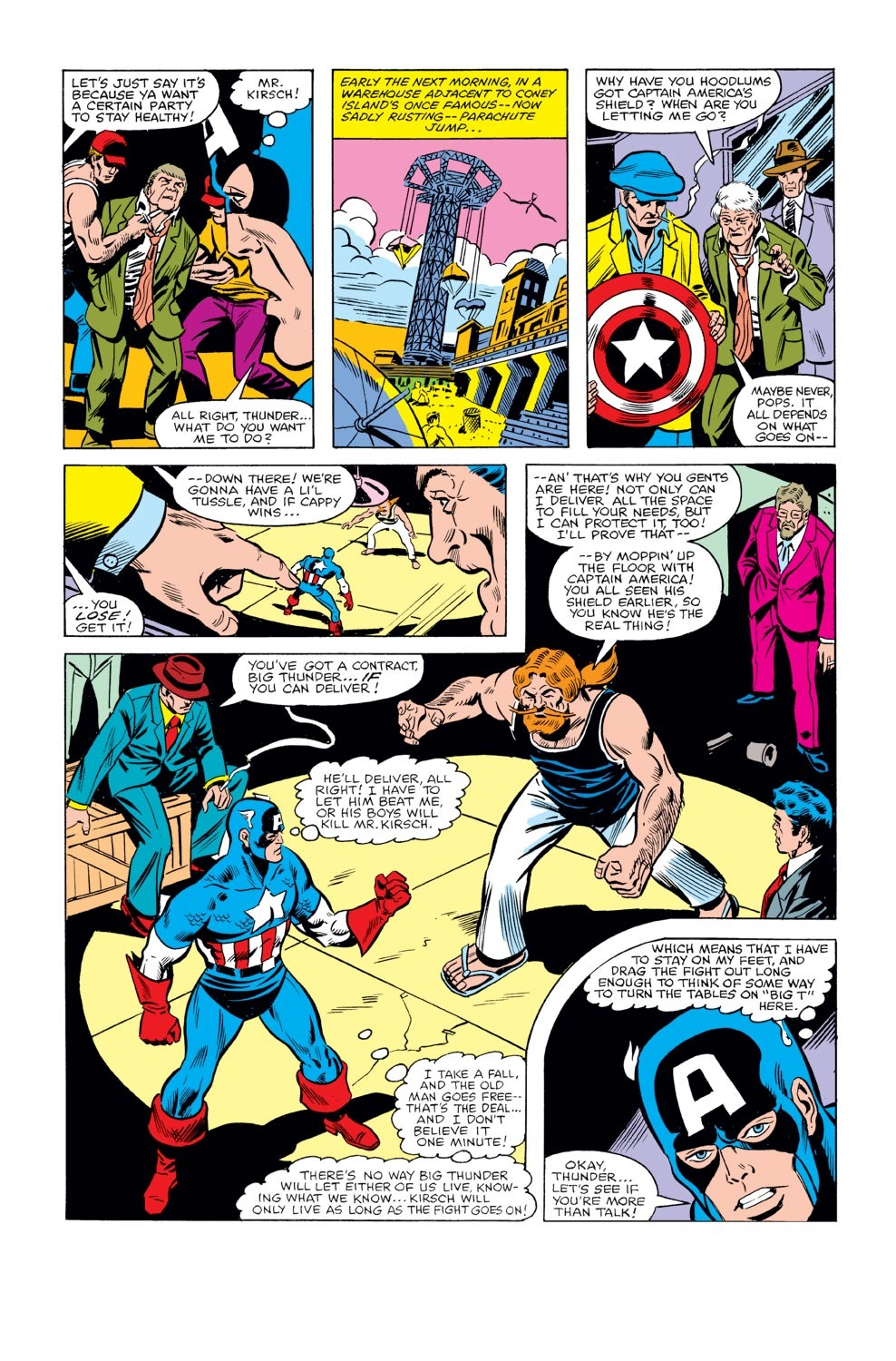 Captain America (1968) Issue #240 #155 - English 12
