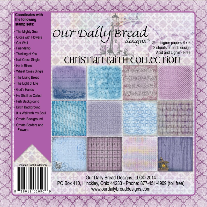 Our Daily Bread Designs Christian Faith Paper Collection