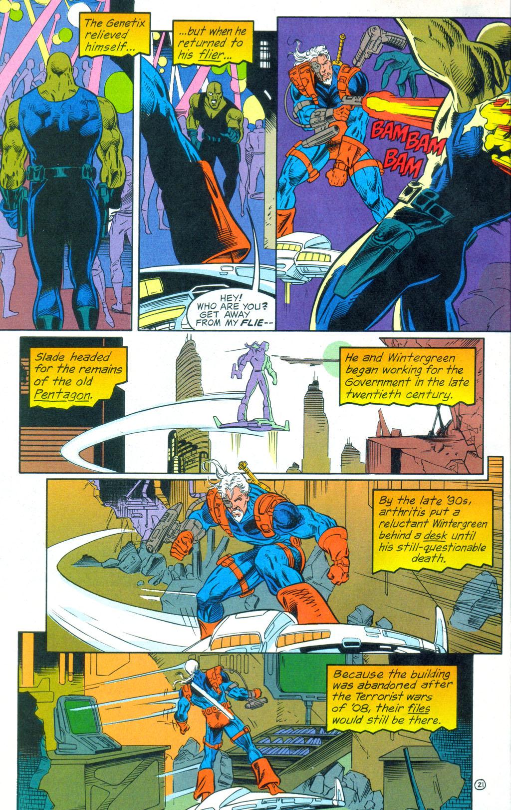 Deathstroke (1991) Annual 3 #3 - English 22