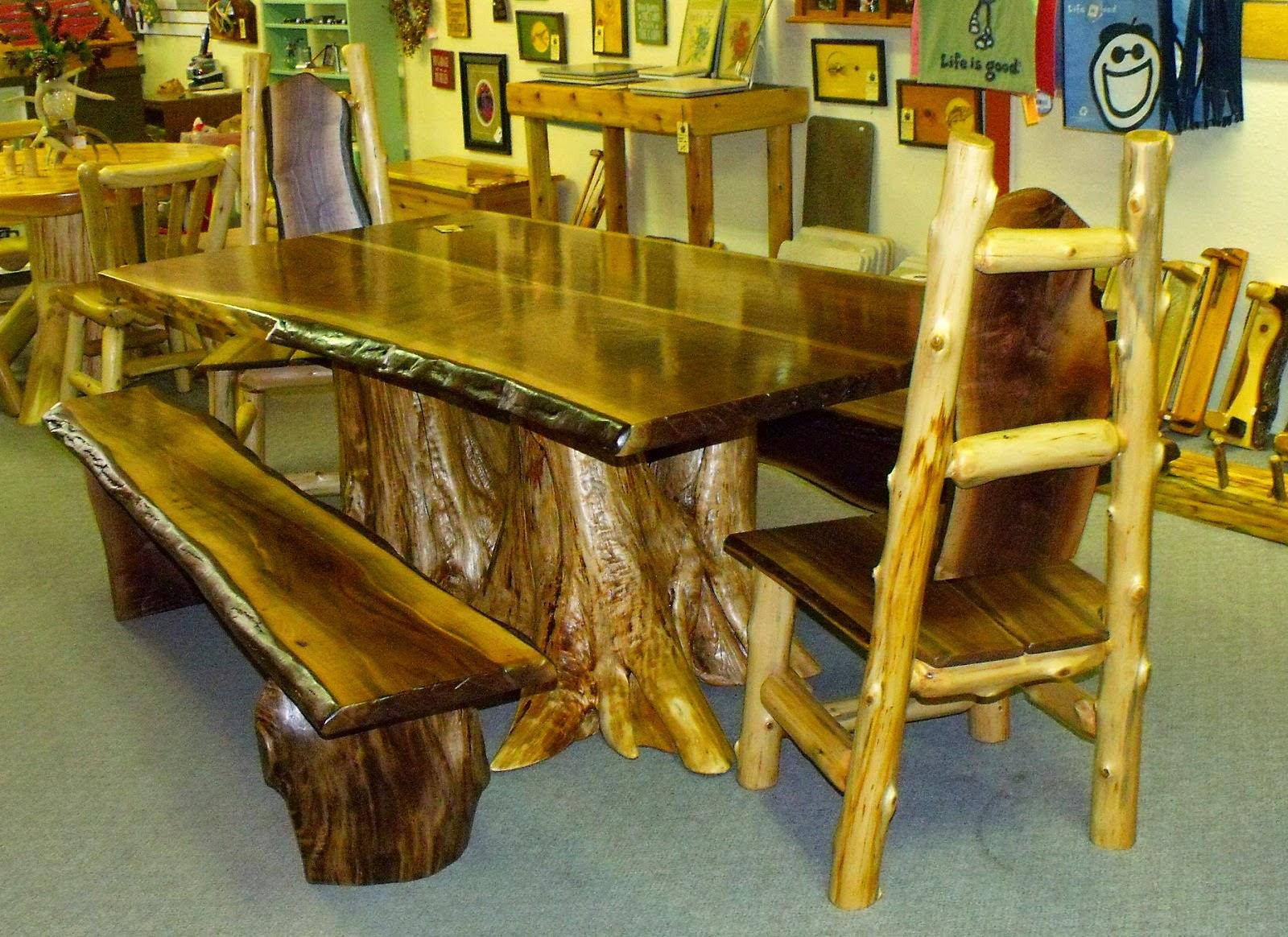 kursi kayu minimalis klasik