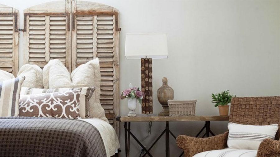 ideas para reutilizar una vieja puerta de madera decorative garden fencing. Black Bedroom Furniture Sets. Home Design Ideas