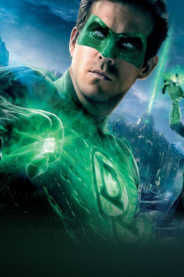 Green Lantern The Movie IPhone HD Wallpaper