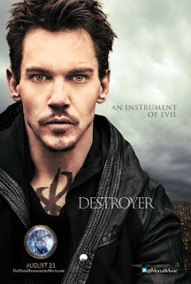 Jonathan Rhys Meyers Mortal Instruments City of Bones Poster