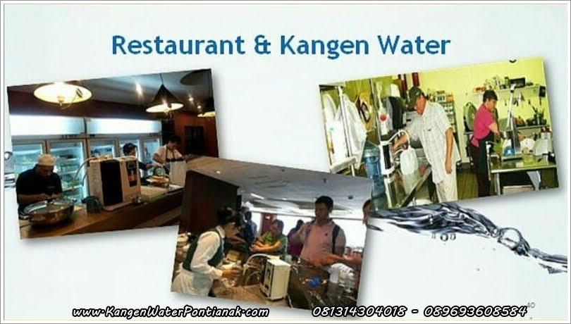 Restaurant dan KanGen Water