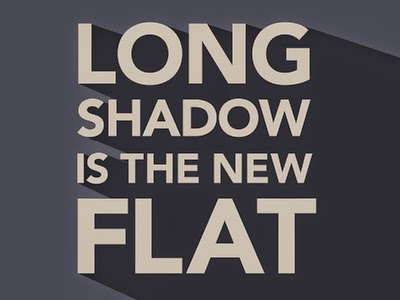 Desain Flat Long Shadow