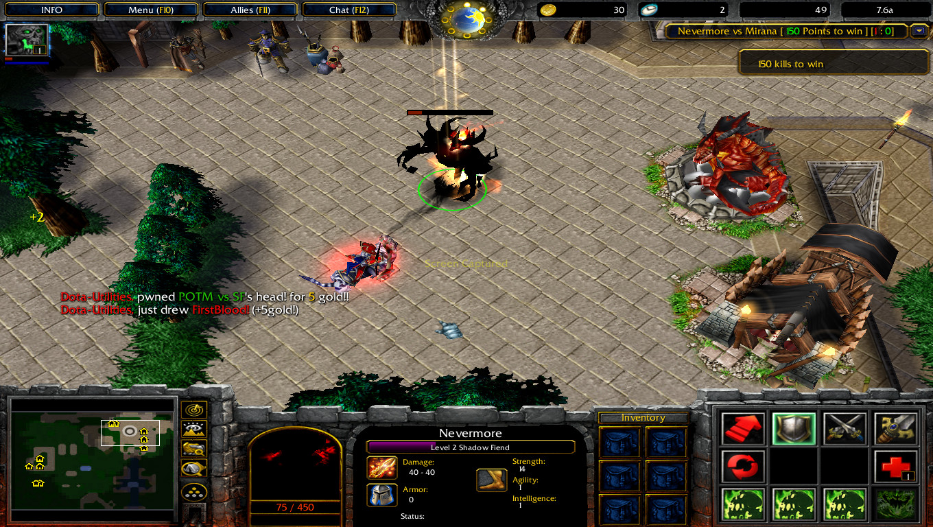Dota-Throne - Defance Of The Ancients: Warcraft 3 TFT Map ...