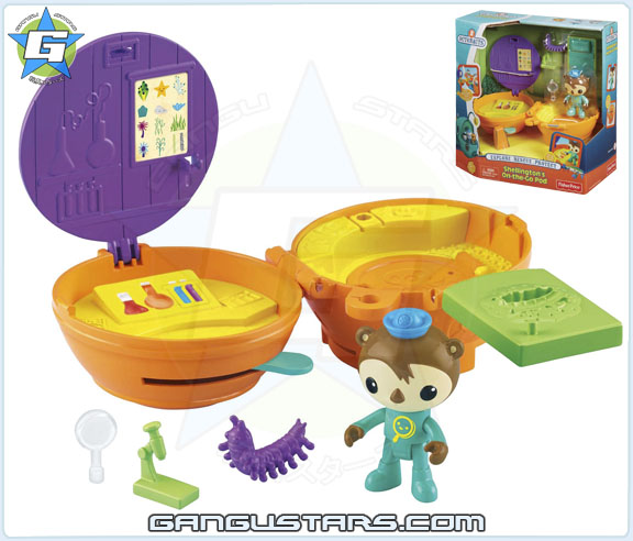 the Octonauts オクトノーツ Shellington On the Go Pod Fisher-Price toys シェリントン