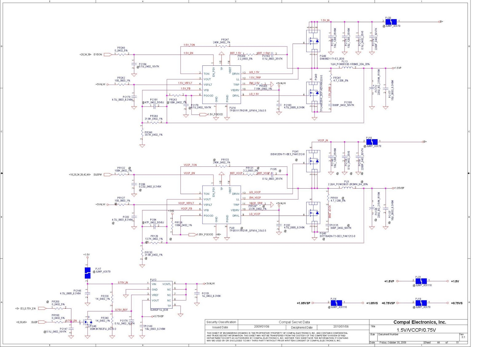 Laptop Lab    Schematics        Lenovo    IdeaPad G460 LA5751P    Schematics
