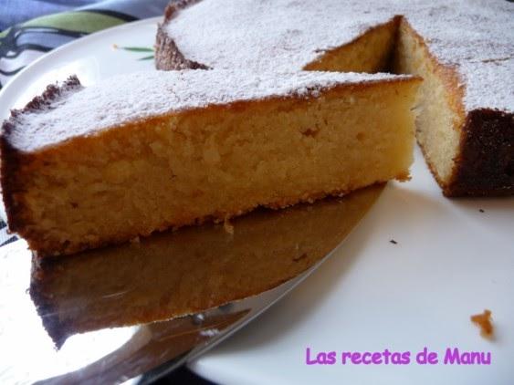 Damp Almond Cake