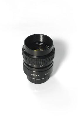 CCTV lens 25/1.4 aka Fujian