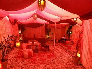Decoracion de Fiestas Arabes, parte 2