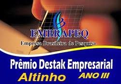 Prêmio Embrapep 2014 - Altinho