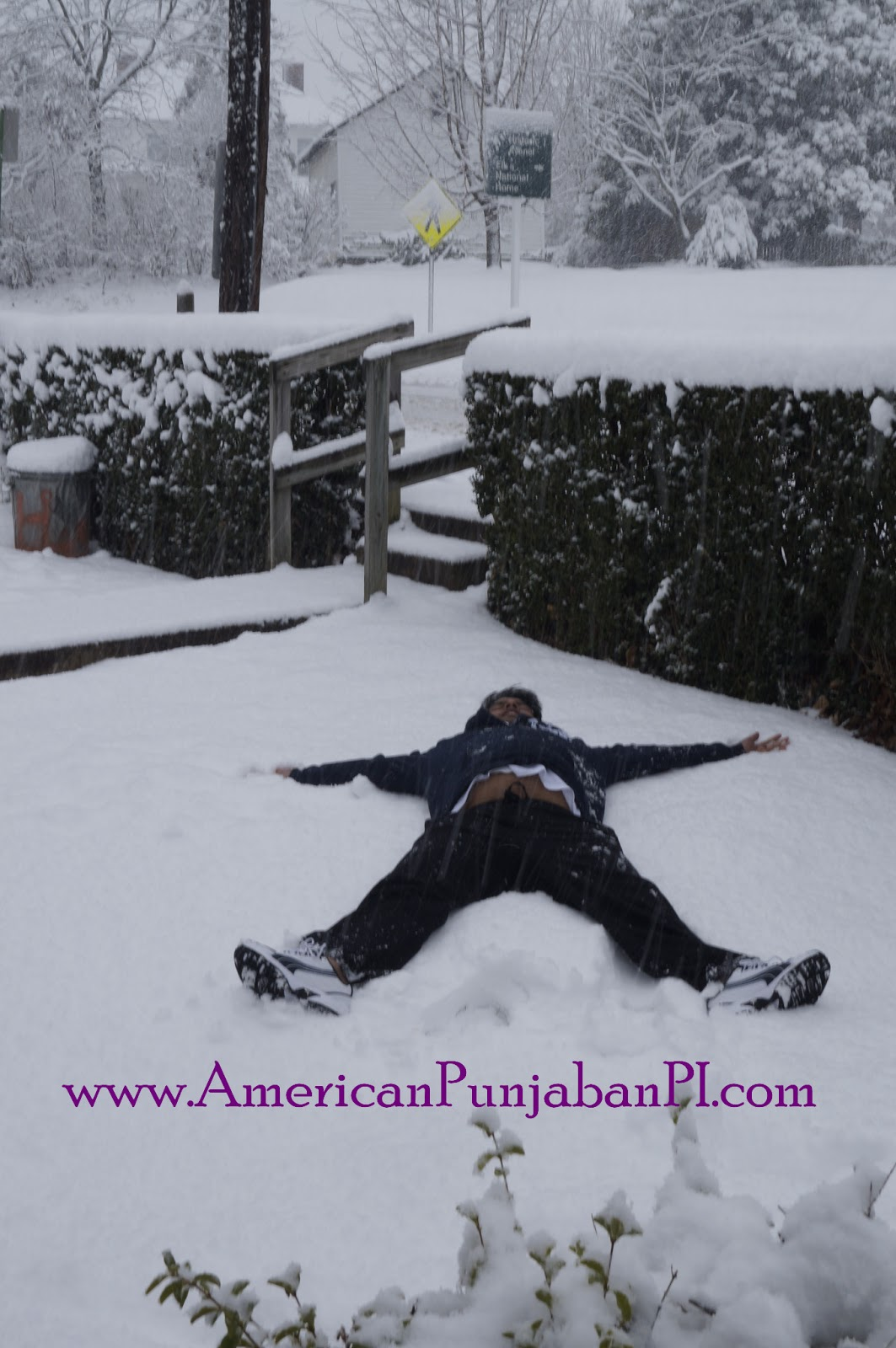 Punjabi snow angels NRI intercultural