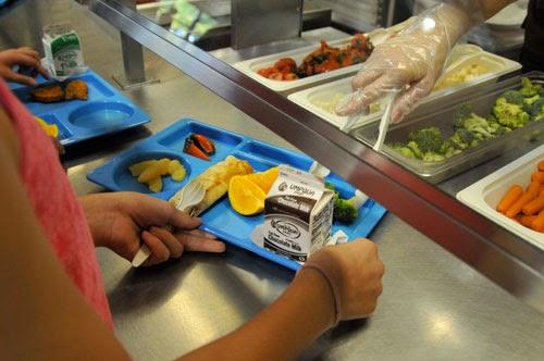Educando nutritivamente en la escuela.