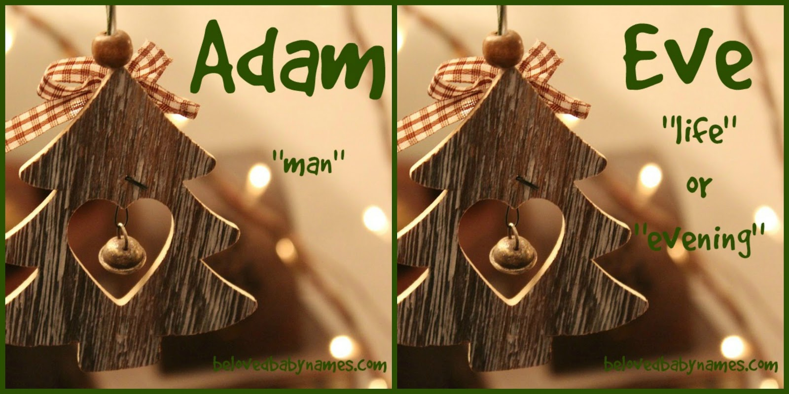beloved baby names special feature adam and eve