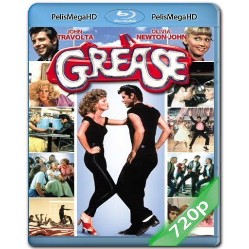 GREASE (1978) 720P HD MKV ESPAÑOL LATINO