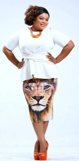 dayo amusa lion skirt