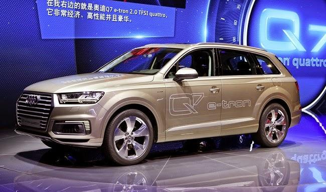 Audi Q7 e-tron TFSI