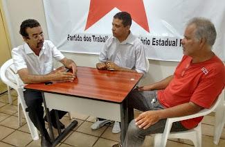 Partido dos Trabalhadores (PT) volta ao cenário politico de Arez