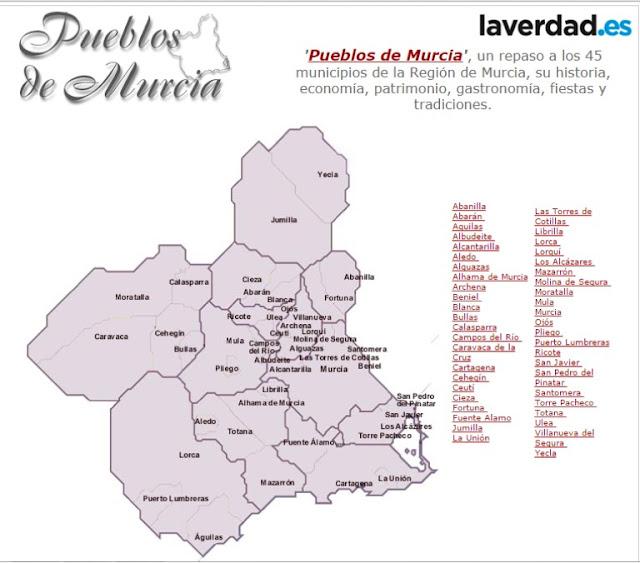 Pueblos de Murcia