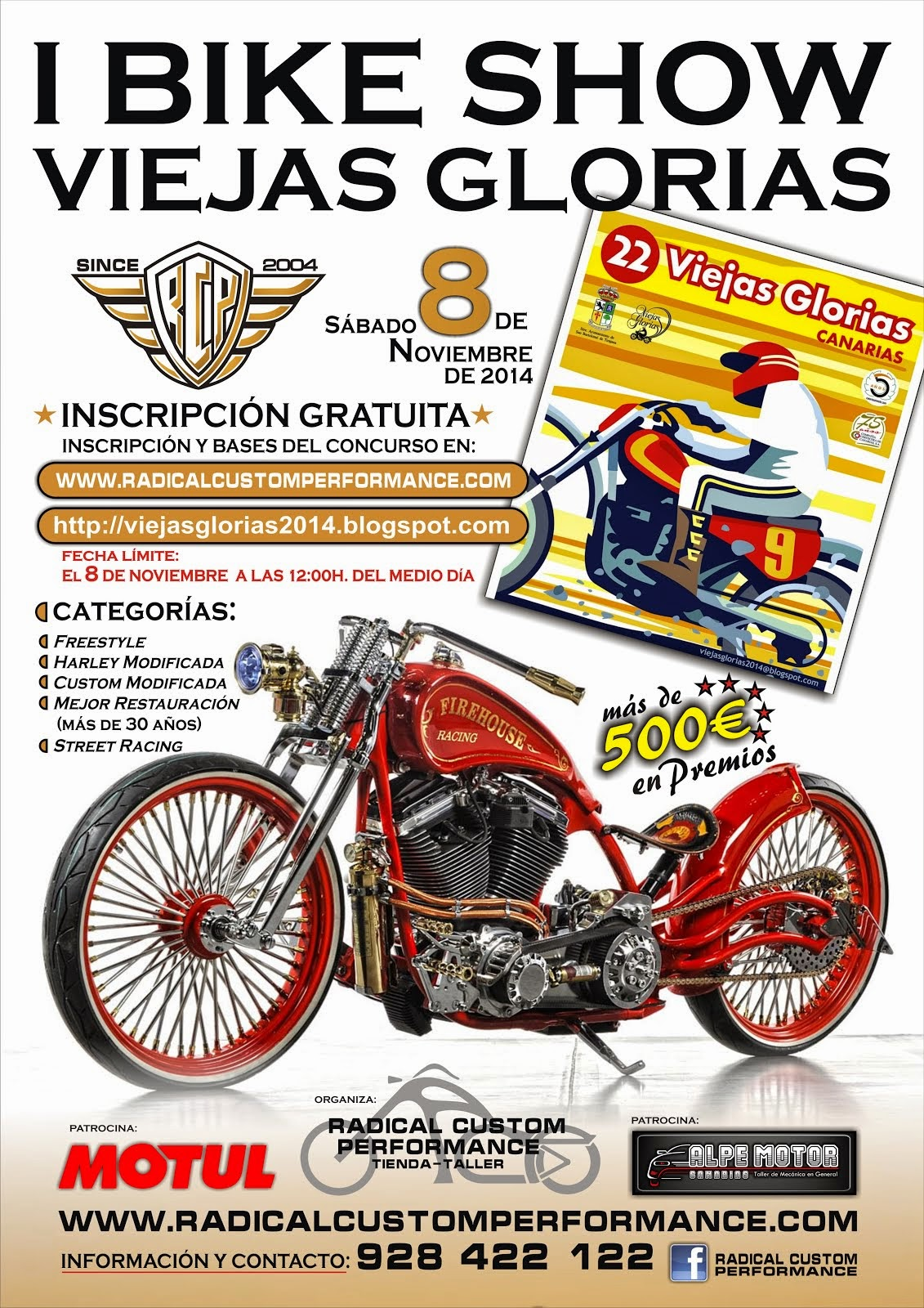 CARTEL OFICIAL BIKE SHOW