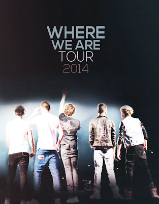 Pôster da Where We Are Tour da 1D