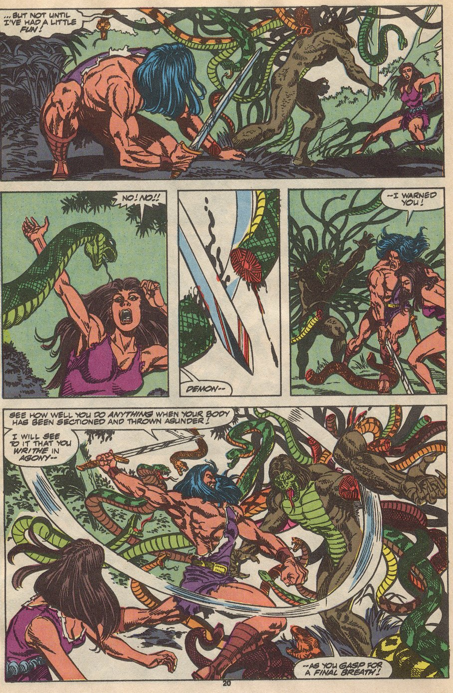 Conan the Barbarian (1970) Issue #237 #249 - English 16