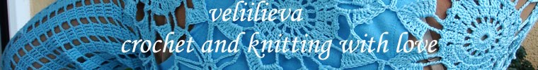 Crochet and knitting whith Love