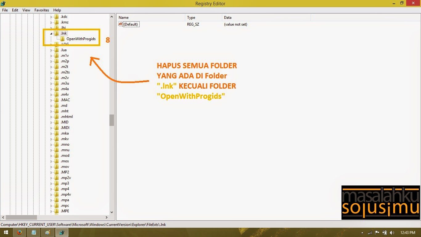 Pilih Folder .lnk