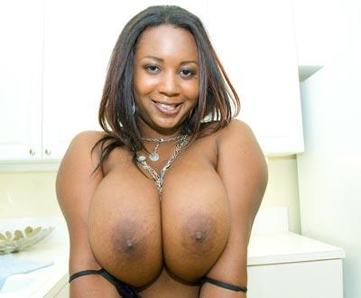 huge tits ebony