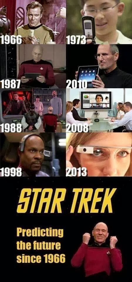 Star Trek got it all