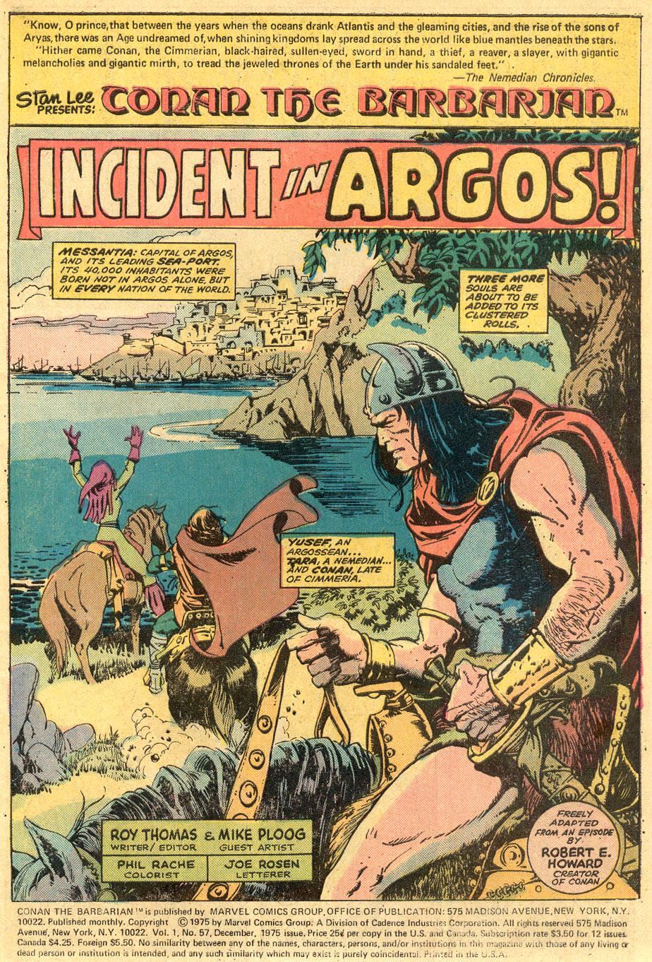 Conan the Barbarian (1970) Issue #57 #69 - English 2